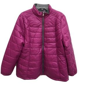 Free Country Pink Puffer Coat